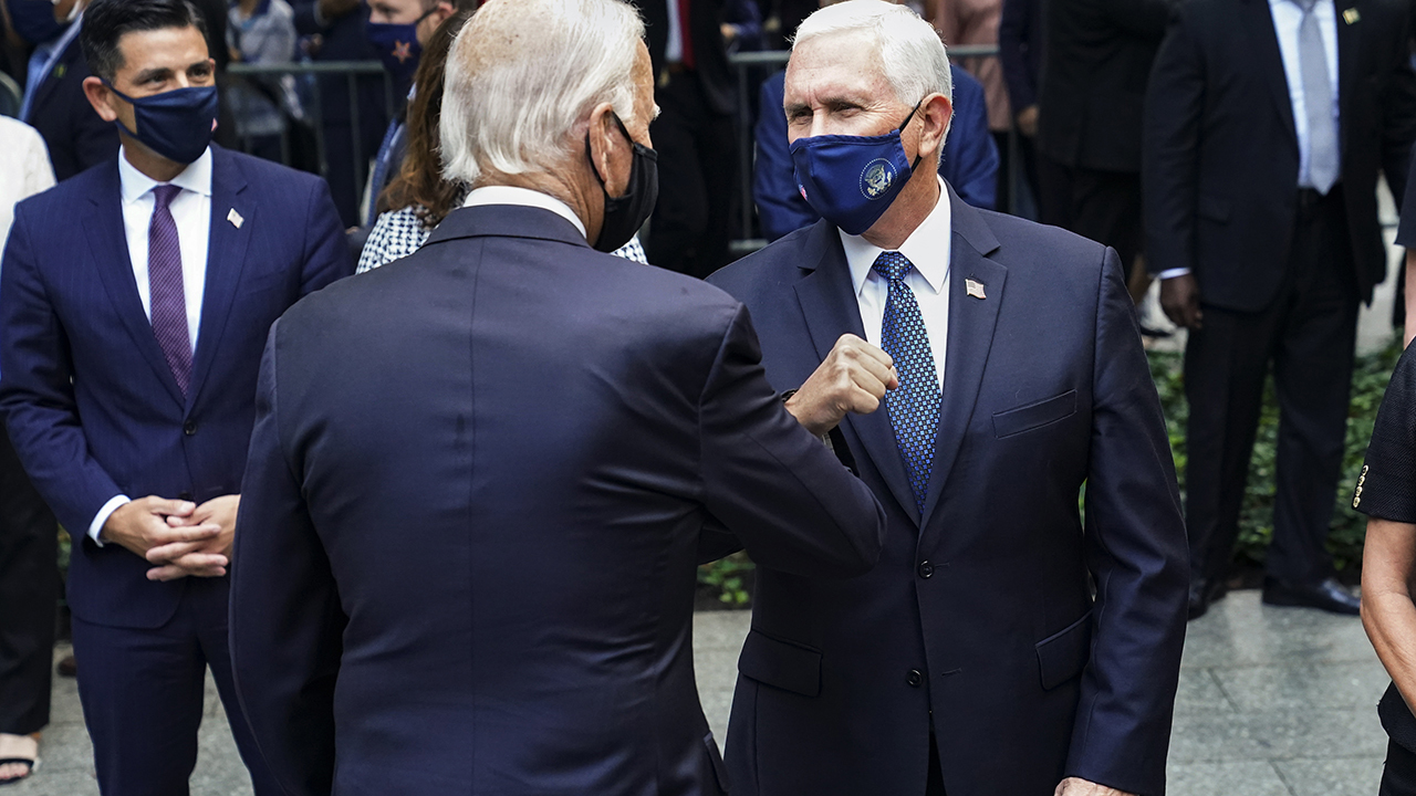Pence, Biden pay respects to 9/11 victims at Ground Zero