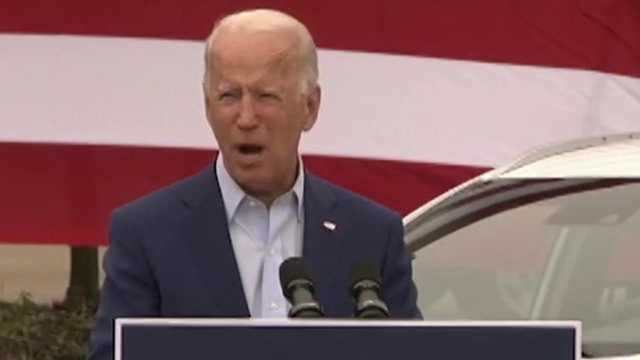 Biden focuses on key battleground states