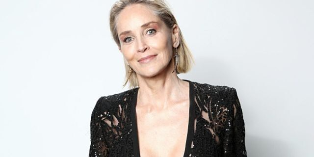 Sharon Stone spoke candidly about her body image.