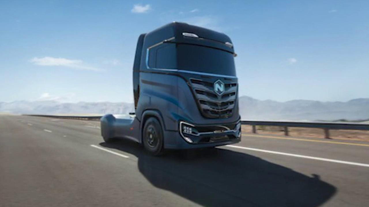 Nikola CEO Mark Russell weighs in on his company's hydrogen trucks and competition in the electric-vehicle industry.
