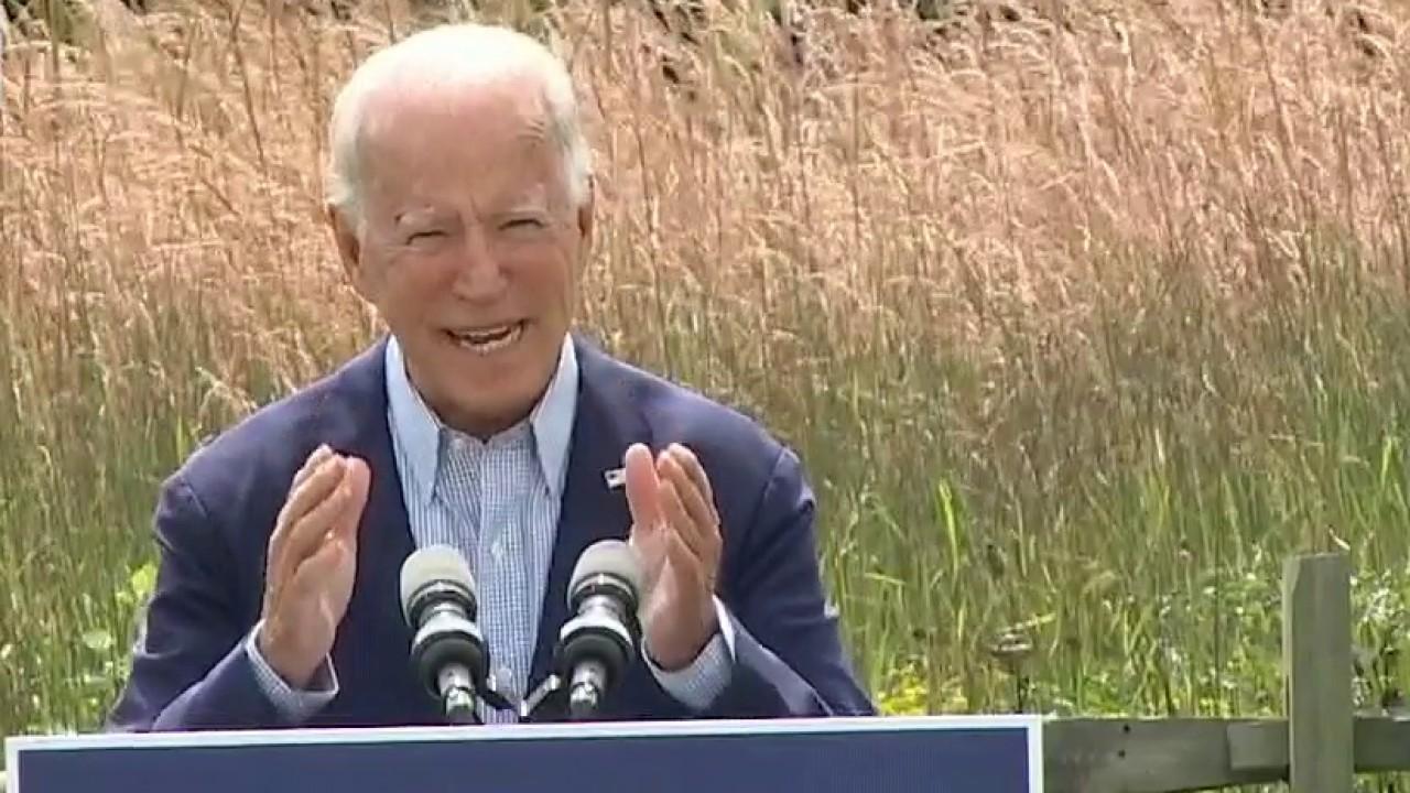Joe Biden calls President Trump a climate arsonist
