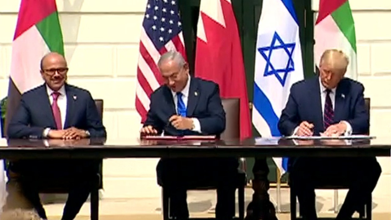 Bahrain, UAE to recognize Israel under new U.S.-brokered deals, Pelosi calls it a 'distraction'