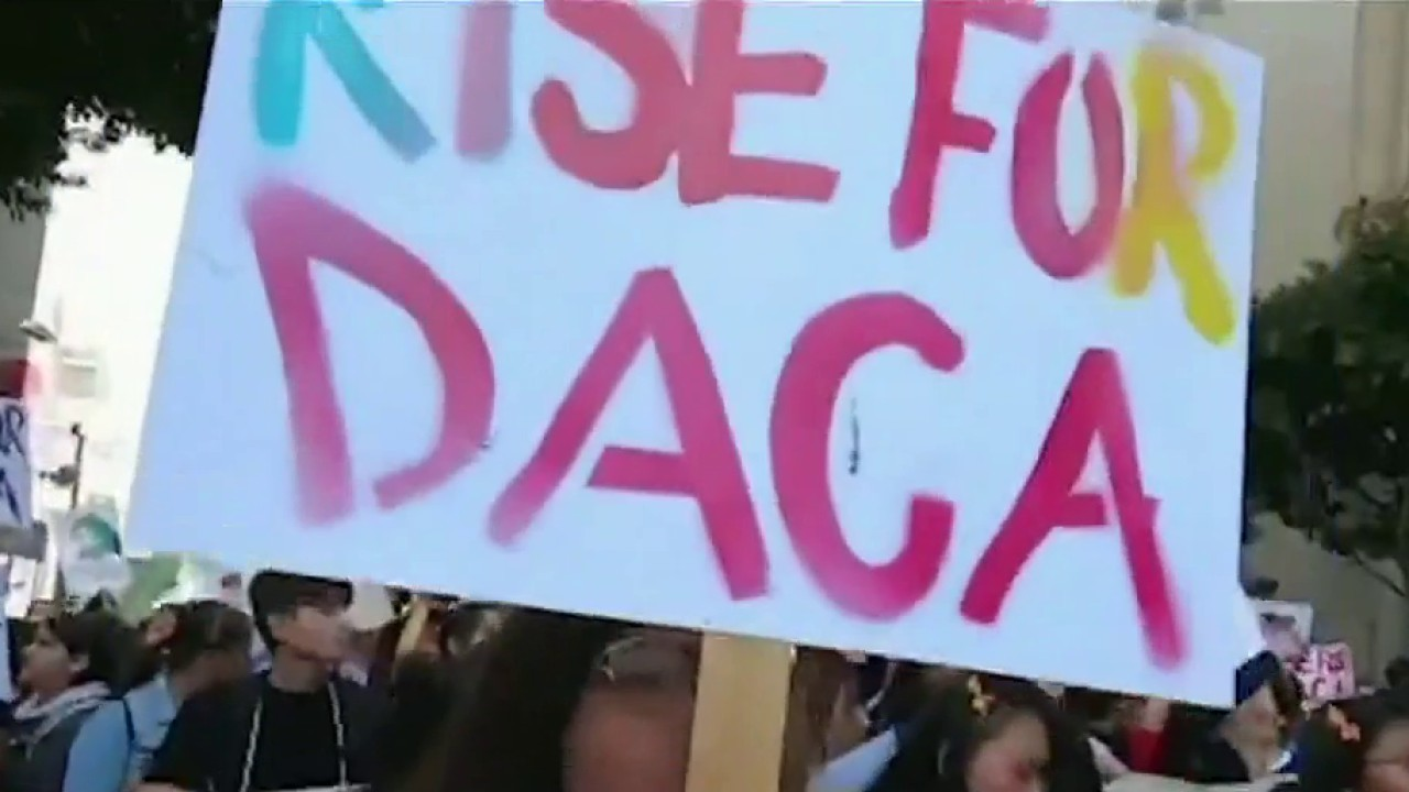 Illegal immigrants challenge President Trump's decision to scale back DACA program