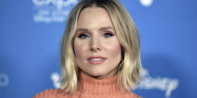 Kristen Bell at the 2019 D23 Expo in Anaheim, Calif.