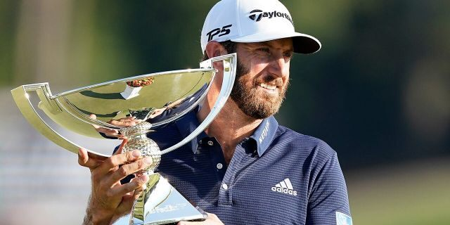 Dustin Johnson is a favorite to win the event this year. (AP Photo/John Bazemore)