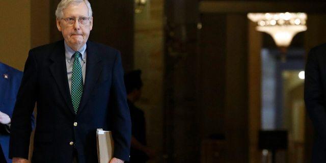 Senate Majority Leader Mitch McConnell (AP Photo/Patrick Semansky)