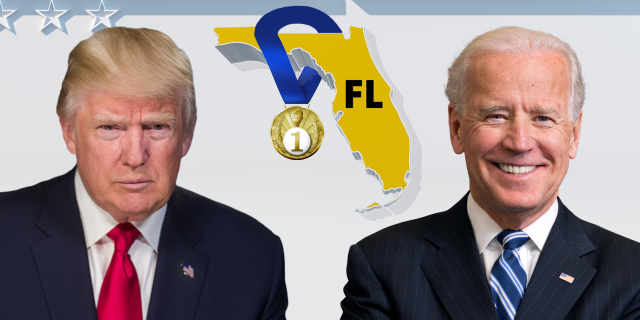 Both candidates are doubling down their focus on Florida, the biggest prize among battleground states.
