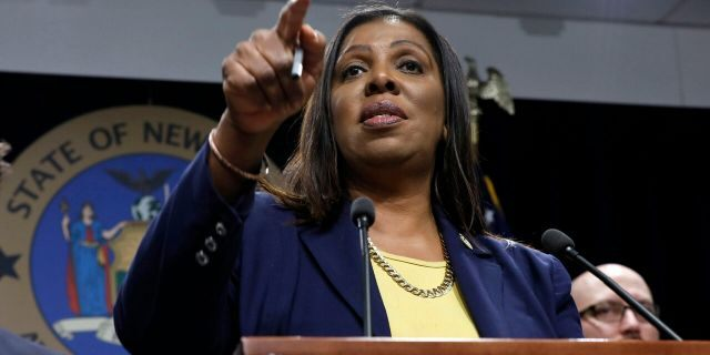 New York State Attorney General Letitia James is among a list of people mentioned as a possible Supreme Court pick if Joe Biden became president. (AP Photo/Richard Drew, File)