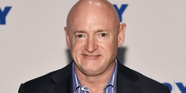 NEW YORK, NY - JUNE 14: Mark Kelly could be sworn into the Senate as early as Nov. 30 should he win the Senate seat in Arizona on Nov. 3. (Photo by Steven Ferdman/Getty Images)