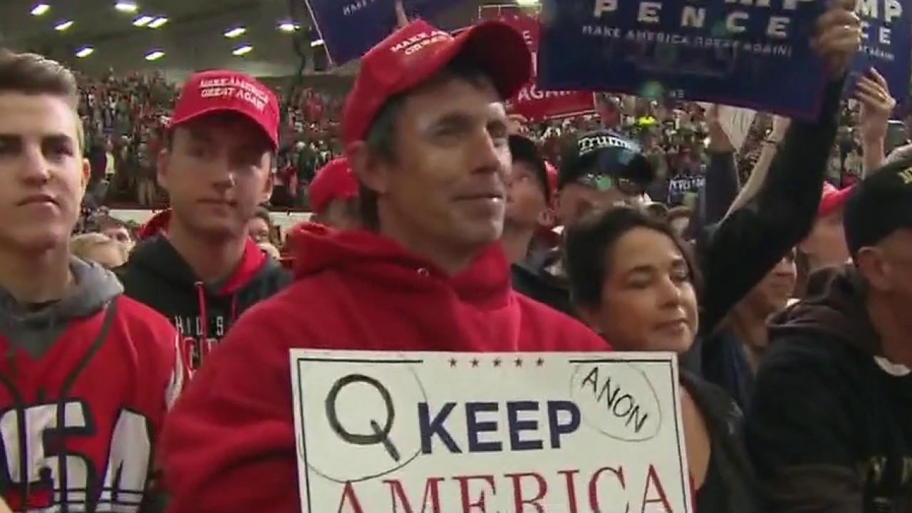 Trump praises supporters of QAnon conspiracy theory