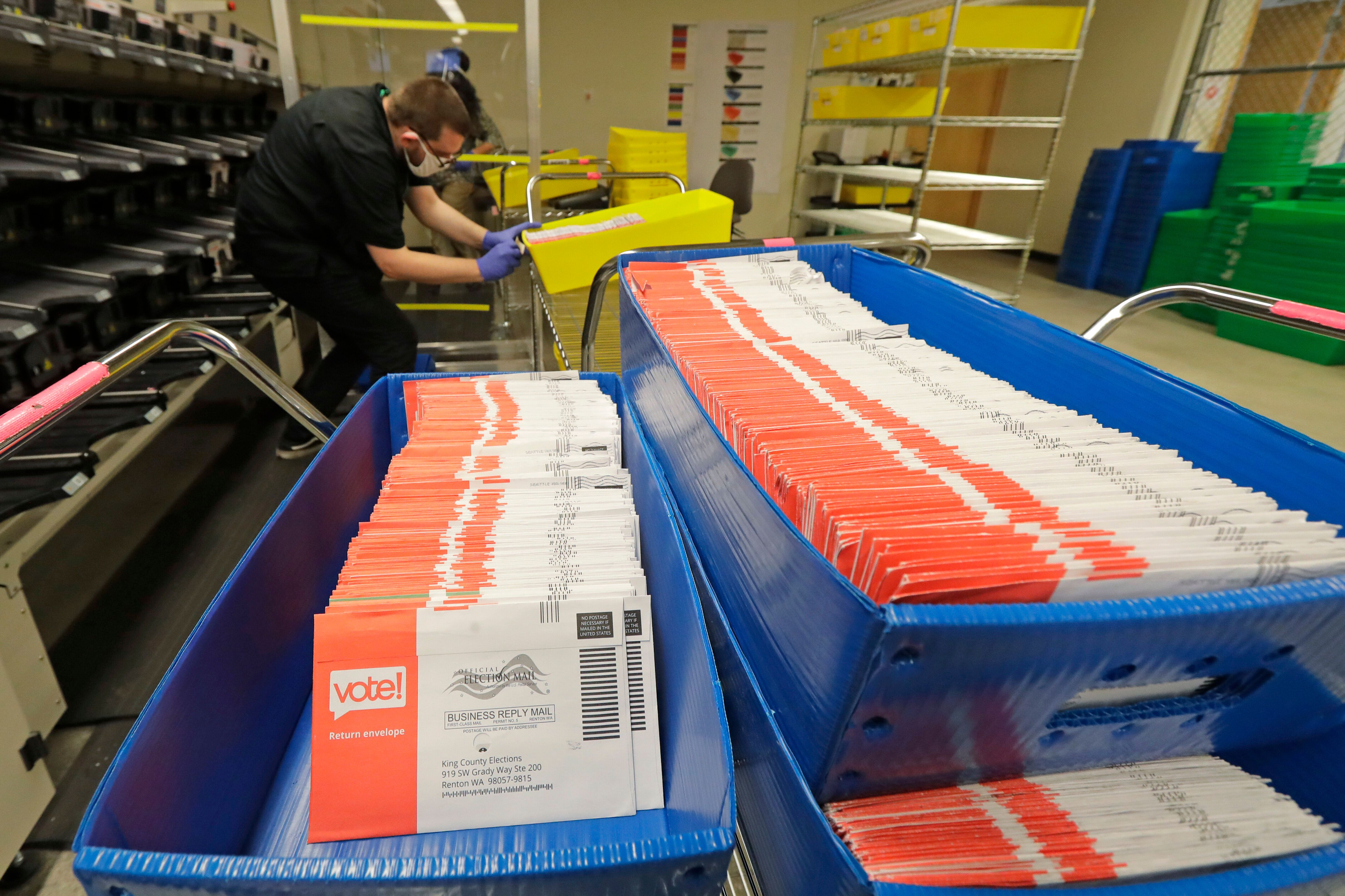 A record number of mailed absentee ballots are expected to be cast in the 2020 election. This could create the prelude to a c