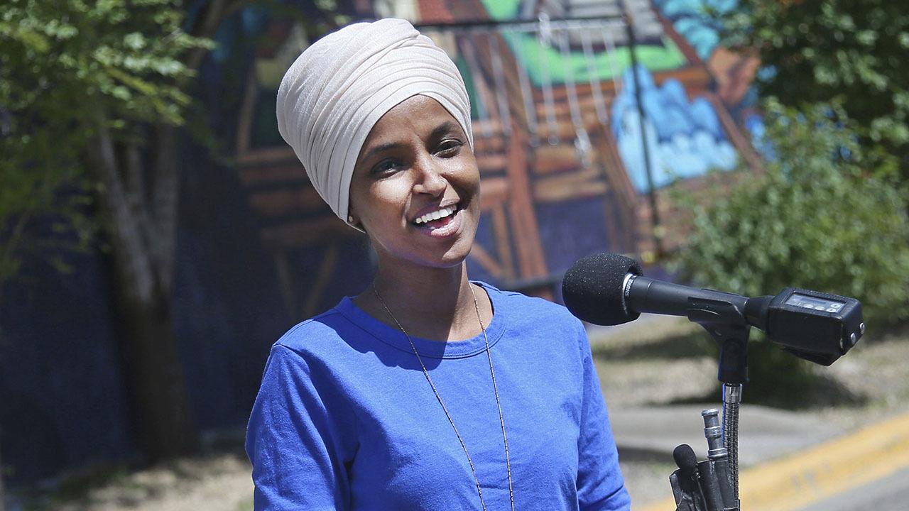 Rep. Ilhan Omar beats back Democratic primary challenge in Minnesota