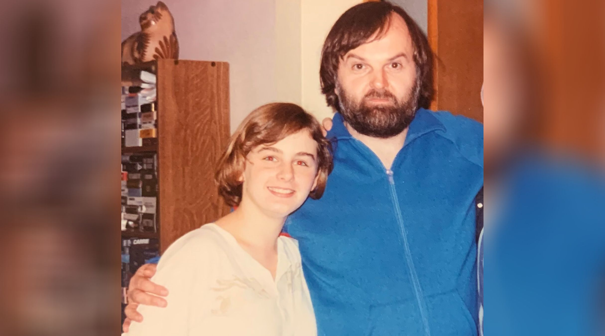 Verity and James Hill in 1986 in Richmond Hill, Ont.