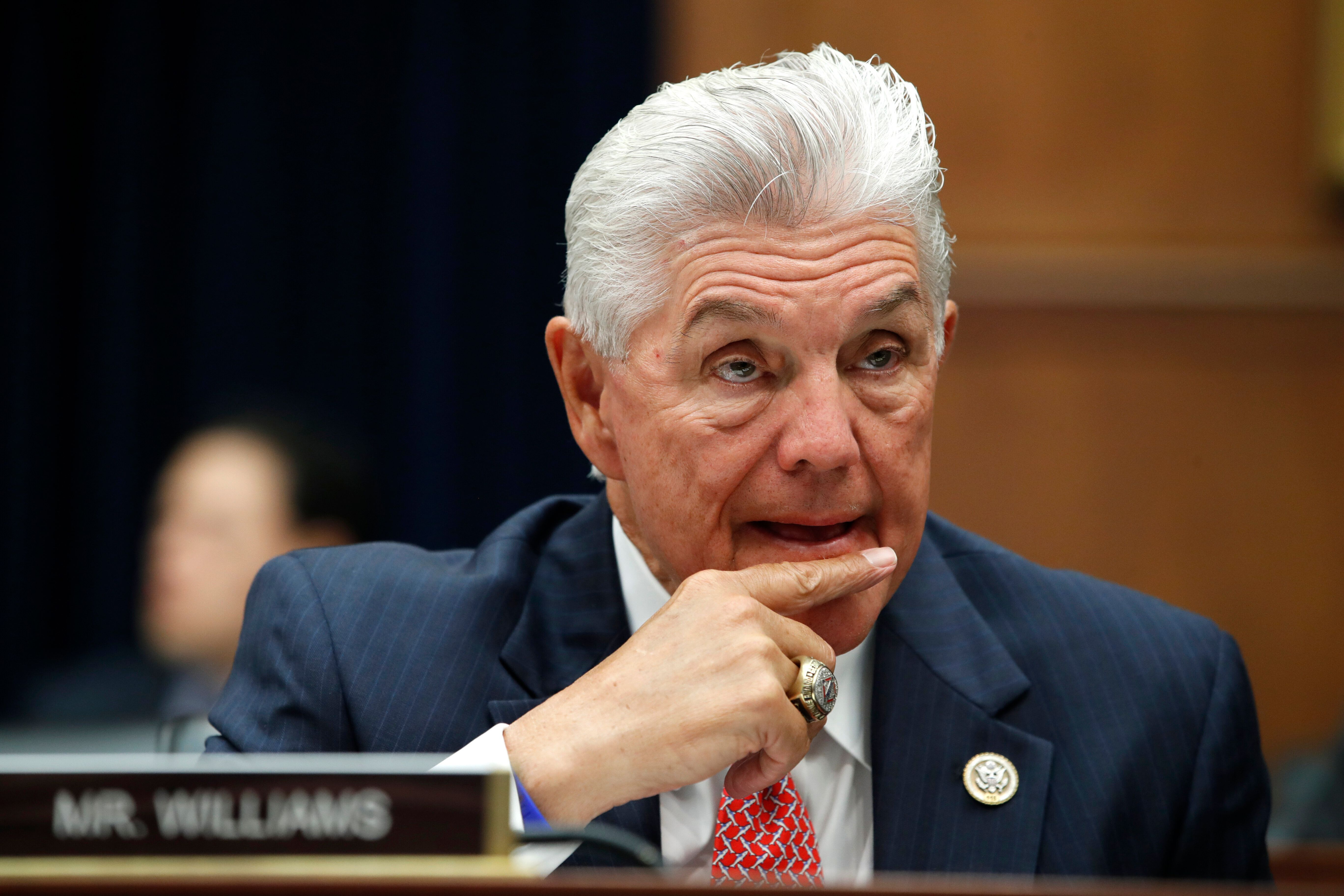 Rep. Roger Williams (R-Texas), one of the richest members of Congress, received a coronavirus business assistance loan of $1