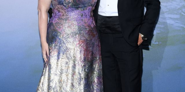 Rebel Wilson and Jacob Busch attend the Monte-Carlo Gala For Planetary Health on September 24, 2020, in Monte-Carlo, Monaco