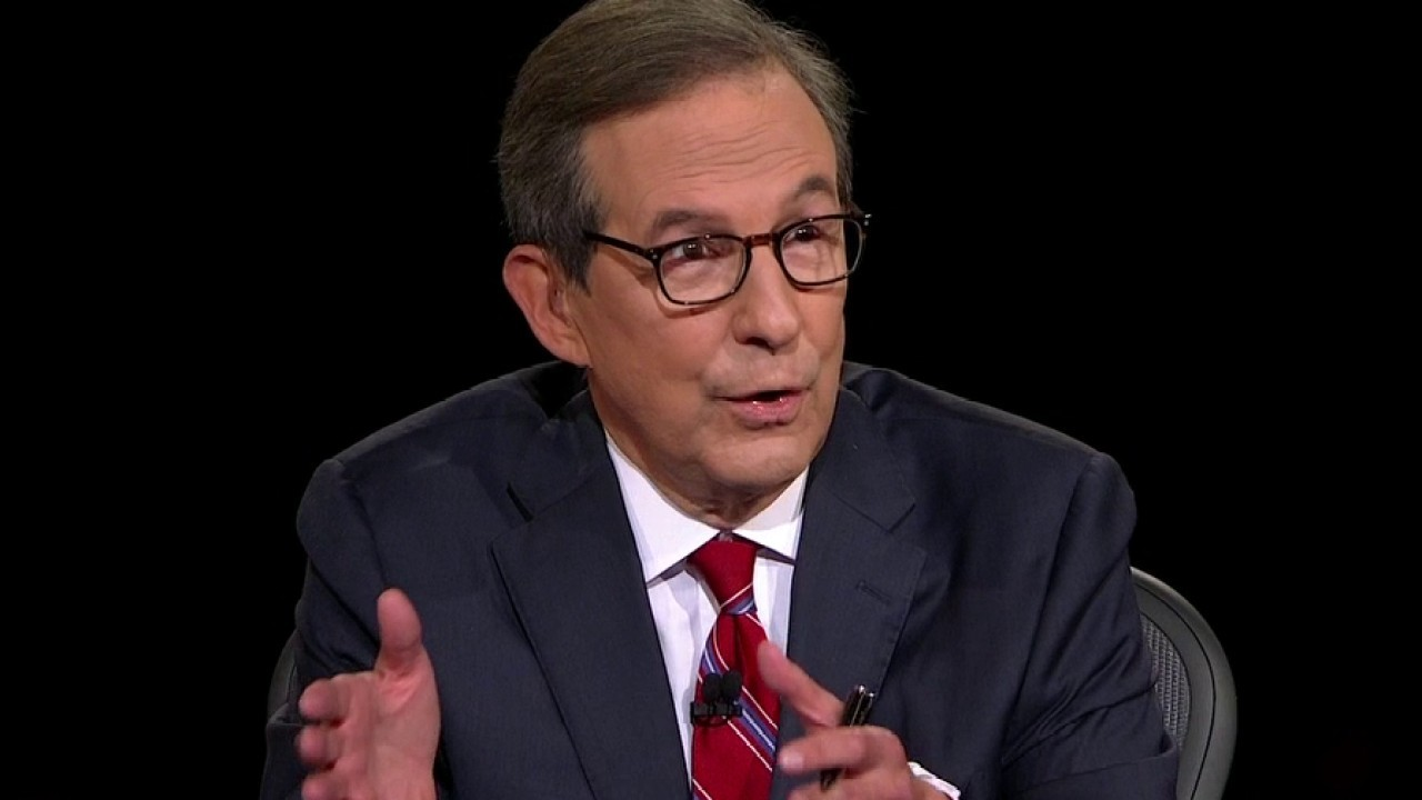 Chris Wallace calls out Trump over interruptions during debate