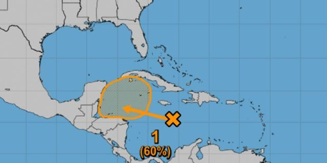 The National Hurricane Center (NHC) says there is a 60% chance the system develops by the weekend.