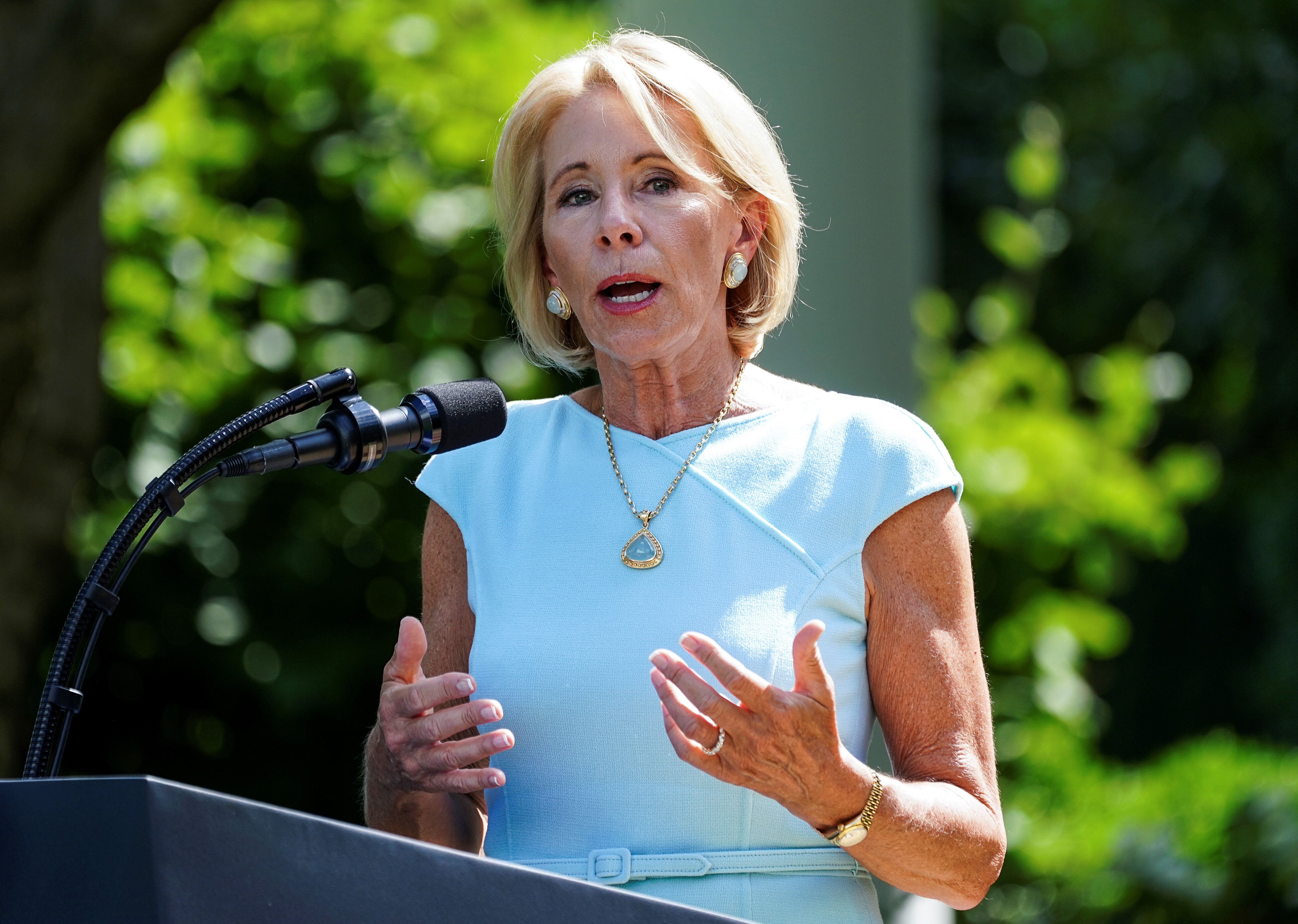 Under Education Secretary Betsy Devos, the Department of Education has threatened to pull funding from schools if transgender