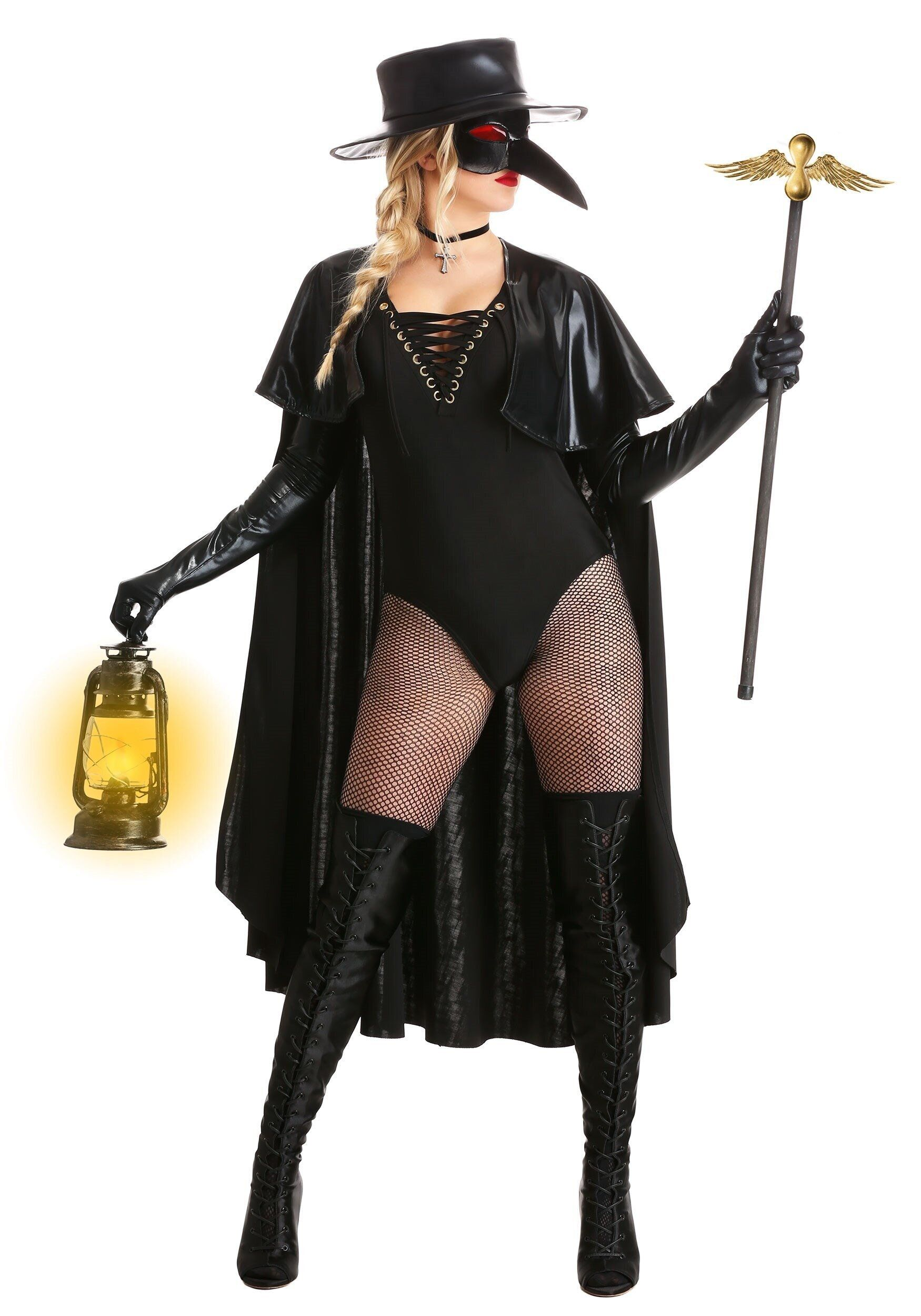 """Trying to come up with a costume that's appropriate for a pandemic? The <a href=""""https://www.halloweencostumes.com/womens-eer"""