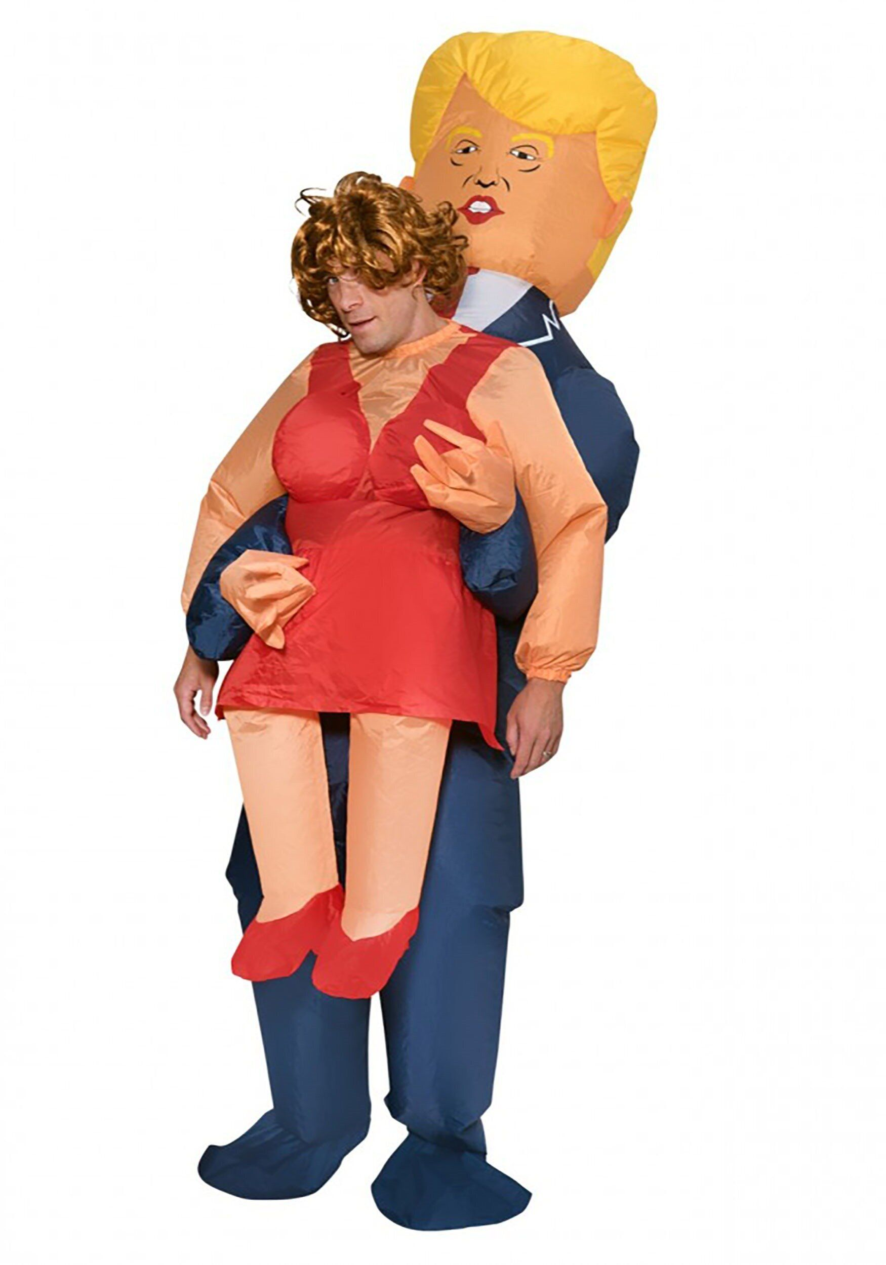 """Any costume that shows <a href=""""https://www.halloweencostumes.com/adult-inflatable-presidential-pick-me-up-costume.html"""" targ"""