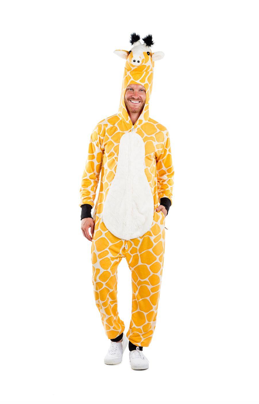 "Finding a weirder animal costume than this <a href=""https://www.tipsyelves.com/mens-giraffe-costume"" target=""_blank"">giraffe"