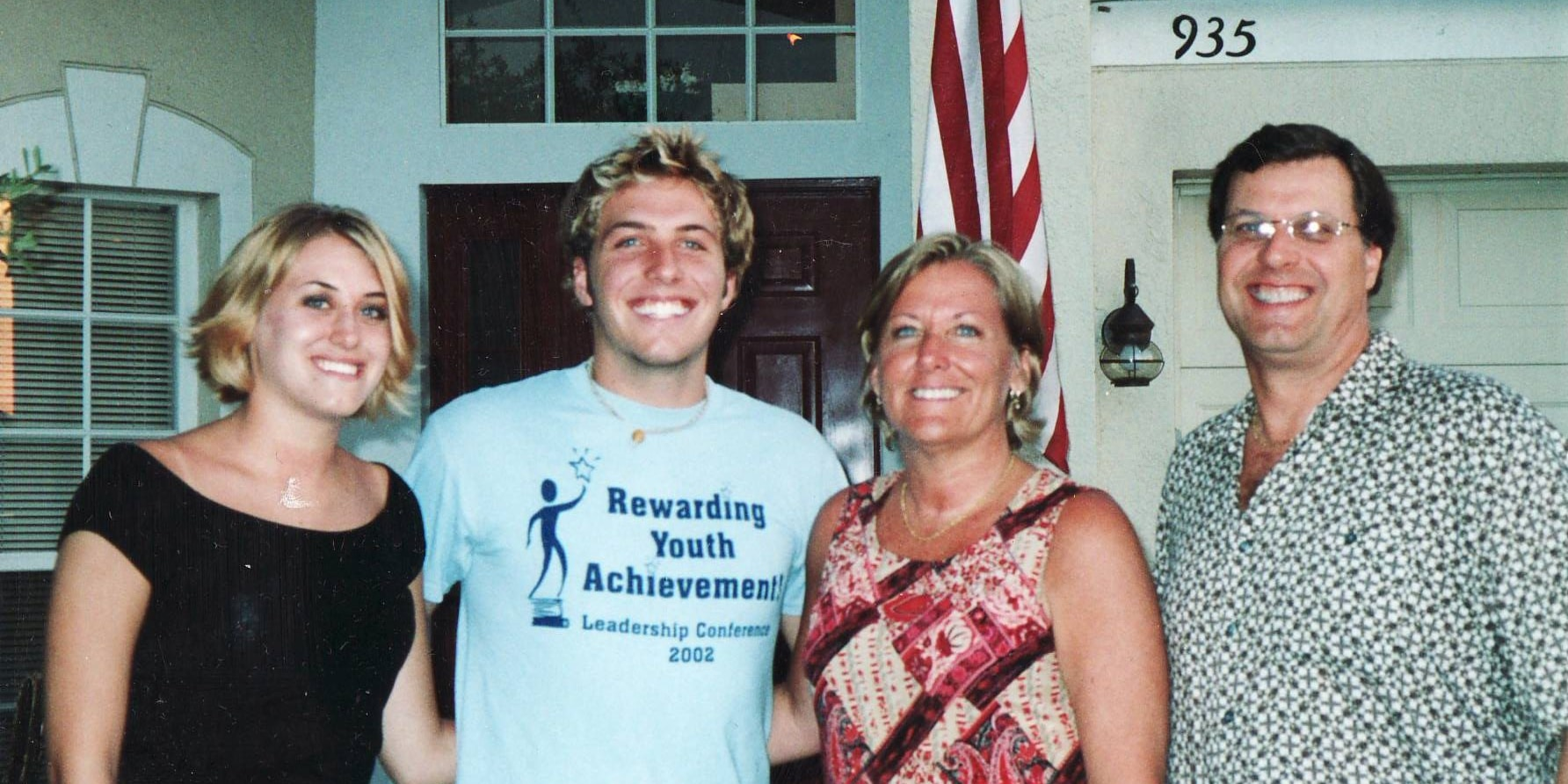 Jennifer Kesse, left, is pictured with her brother, Logan, and parents, Drew and Joyce Kesse, in an undated photo.