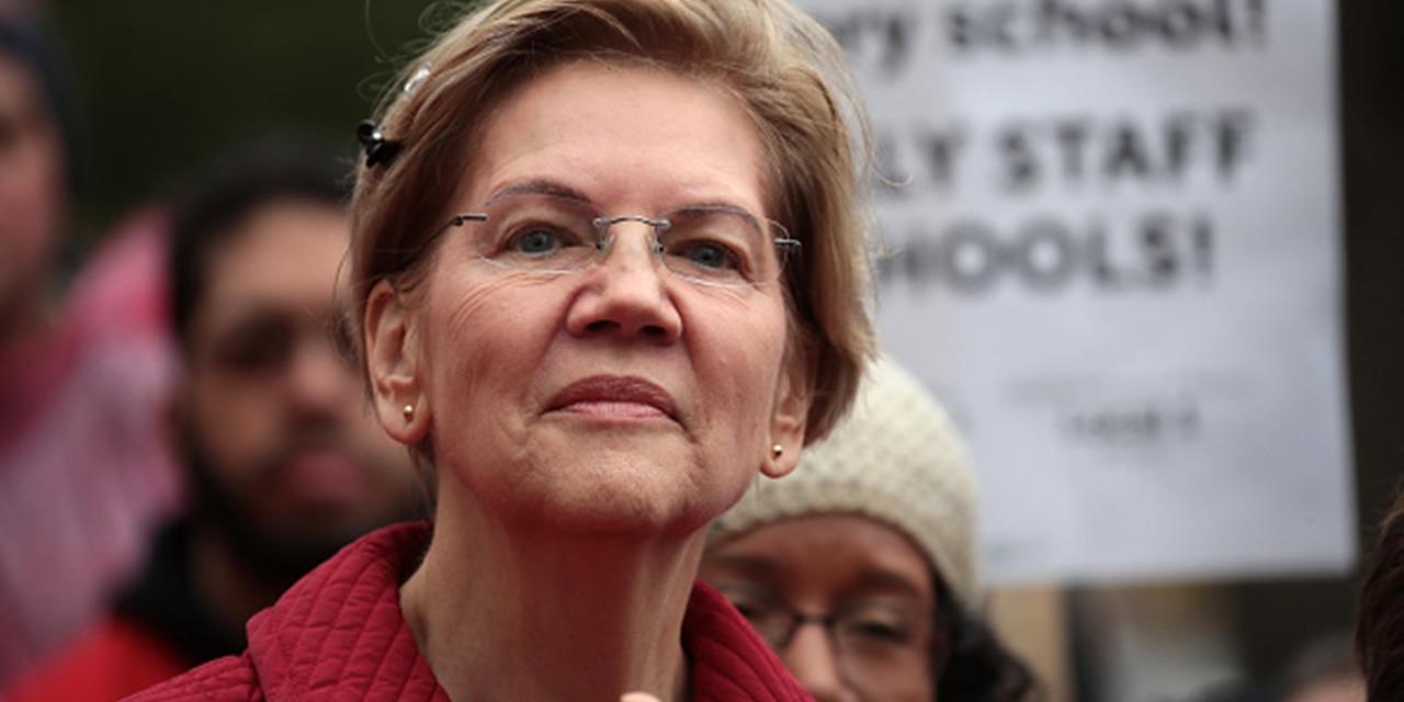 U.S. Sen. Elizabeth Warren, D-Mass., is seen in Chicago in 2019 (Getty Images)
