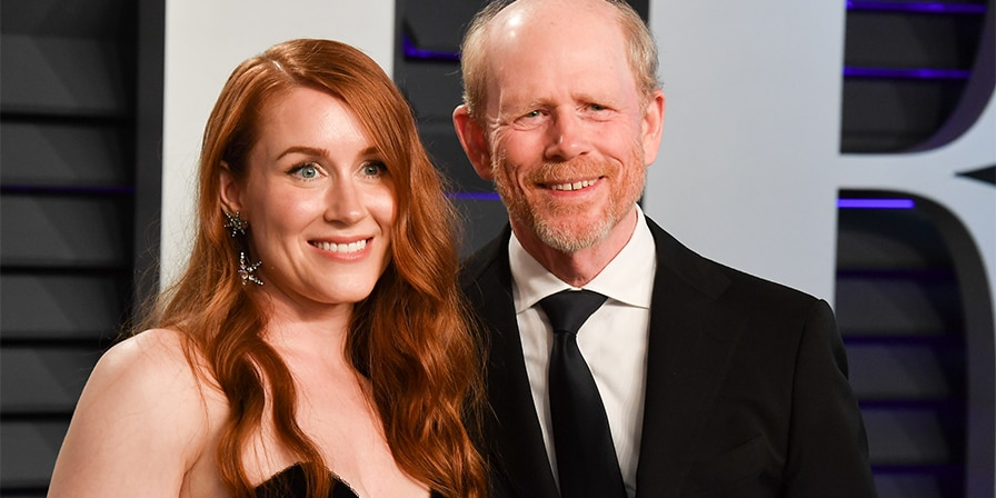 Paige Howard and Ron Howard attend the 2019 Vanity Fair Oscar Party hosted by Radhika Jones at Wallis Annenberg Center for the Performing Arts on February 24, 2019, in Beverly Hills, California.