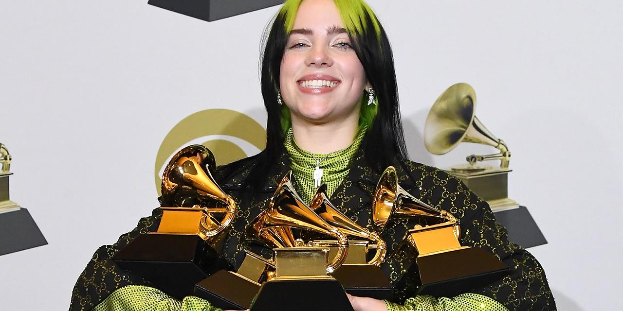 Billie Eilish won five Grammy Awards earlier this year. (Photo by Steve Granitz/WireImage)