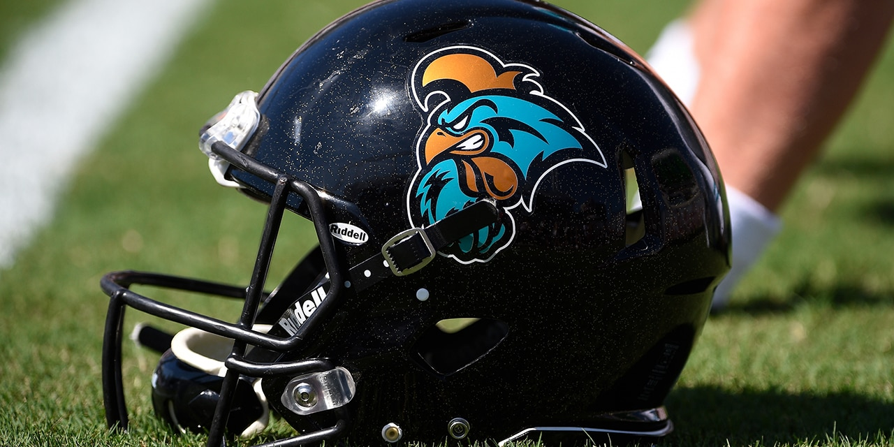 Coastal Carolina will look to stay undefeated vs. Troy. (Lance King/Getty Images)