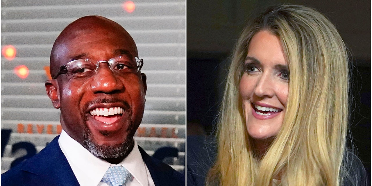 Raphael Warnock (Left) Sen. Kelly Loeffler (Right) are in a runoff election for the incumbent Loeffler's Senate seat. (AP Photos)