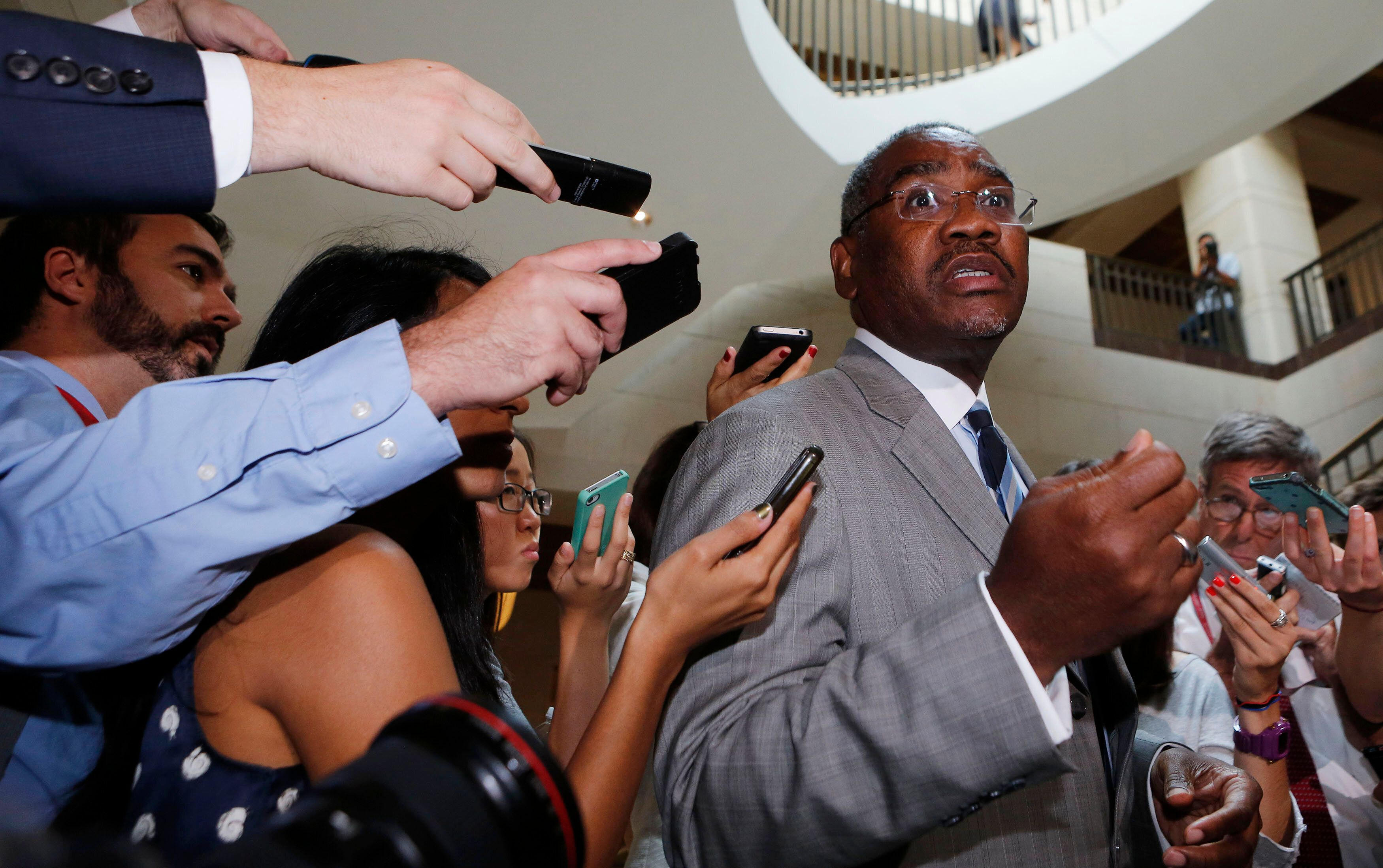 Rep. Gregory Meeks (D-N.Y.) is the favorite to become House Foreign Affairs Committee chairman in the next Congress.