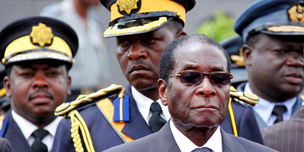 Former Zimbabwe President Robert Mugabe (AP Photo/Tsvangirayi Mukwazhi, File)