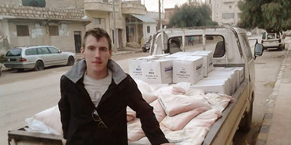 Peter Kassig was supplying aid to Syrian refugees when he was abducted.
