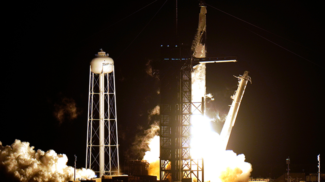 The SpaceX Crew-1 successfully launched from Kennedy Space Center en route to the International Space Station Sunday night.