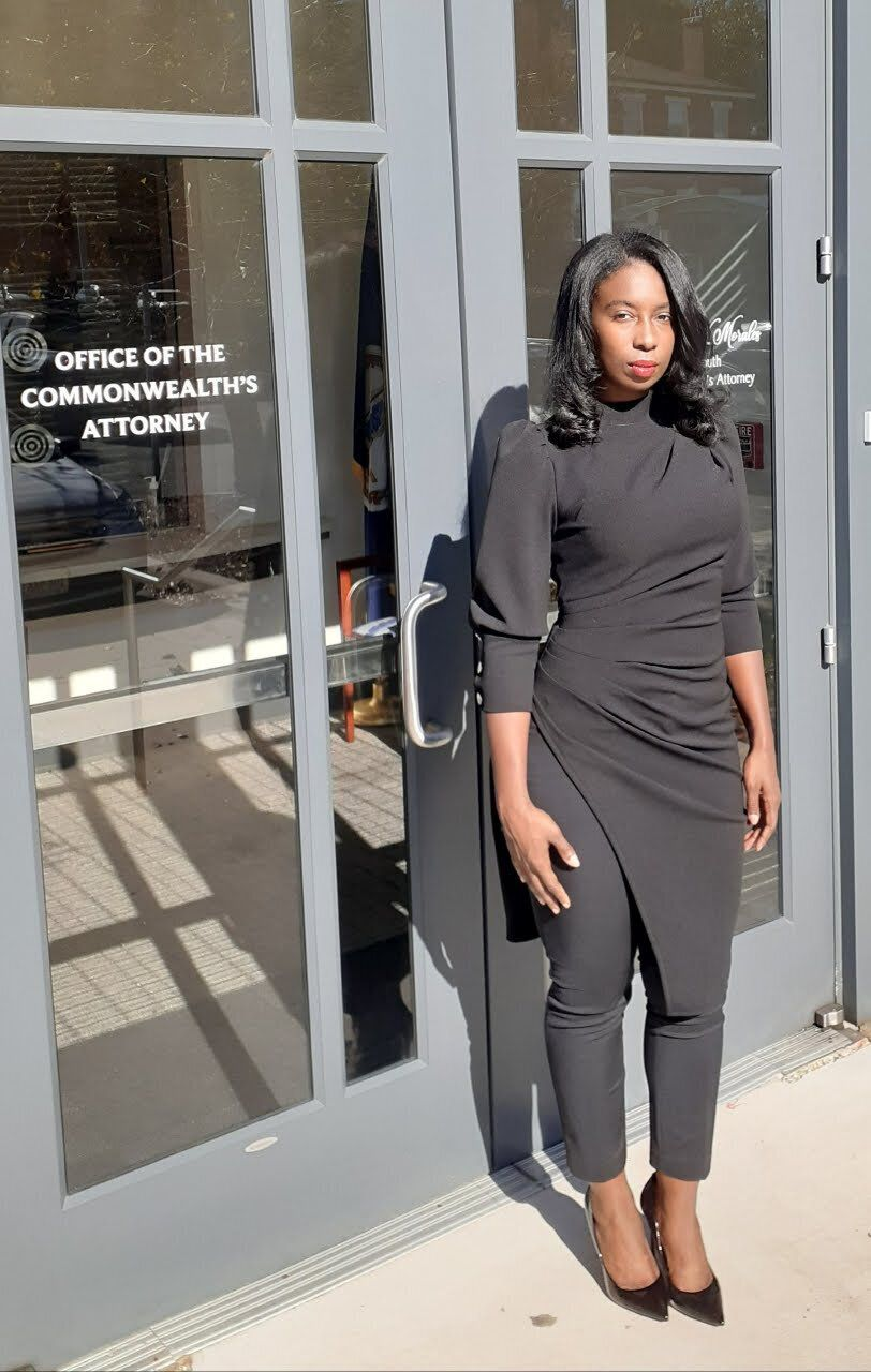 Stephanie Morales, the commonwealth's attorney for Portsmouth, successfully fought the local police department's efforts to s