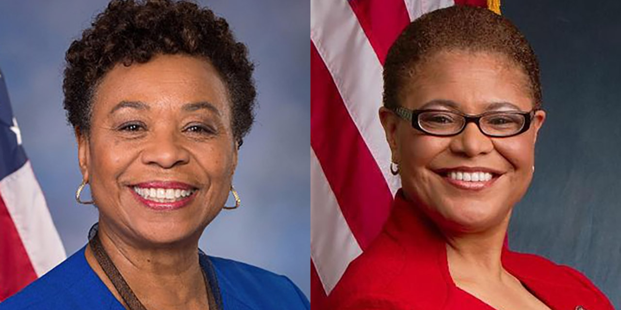 Rep. Barbara Lee and Rep. Karen Bass, both longtime members of Congress, have been tapped by Black Lives Matter and the California Legislative Black Caucus to fill the U.S. Senate seat to be vacated by Kamala Harris once she officially resigns to become vice president.