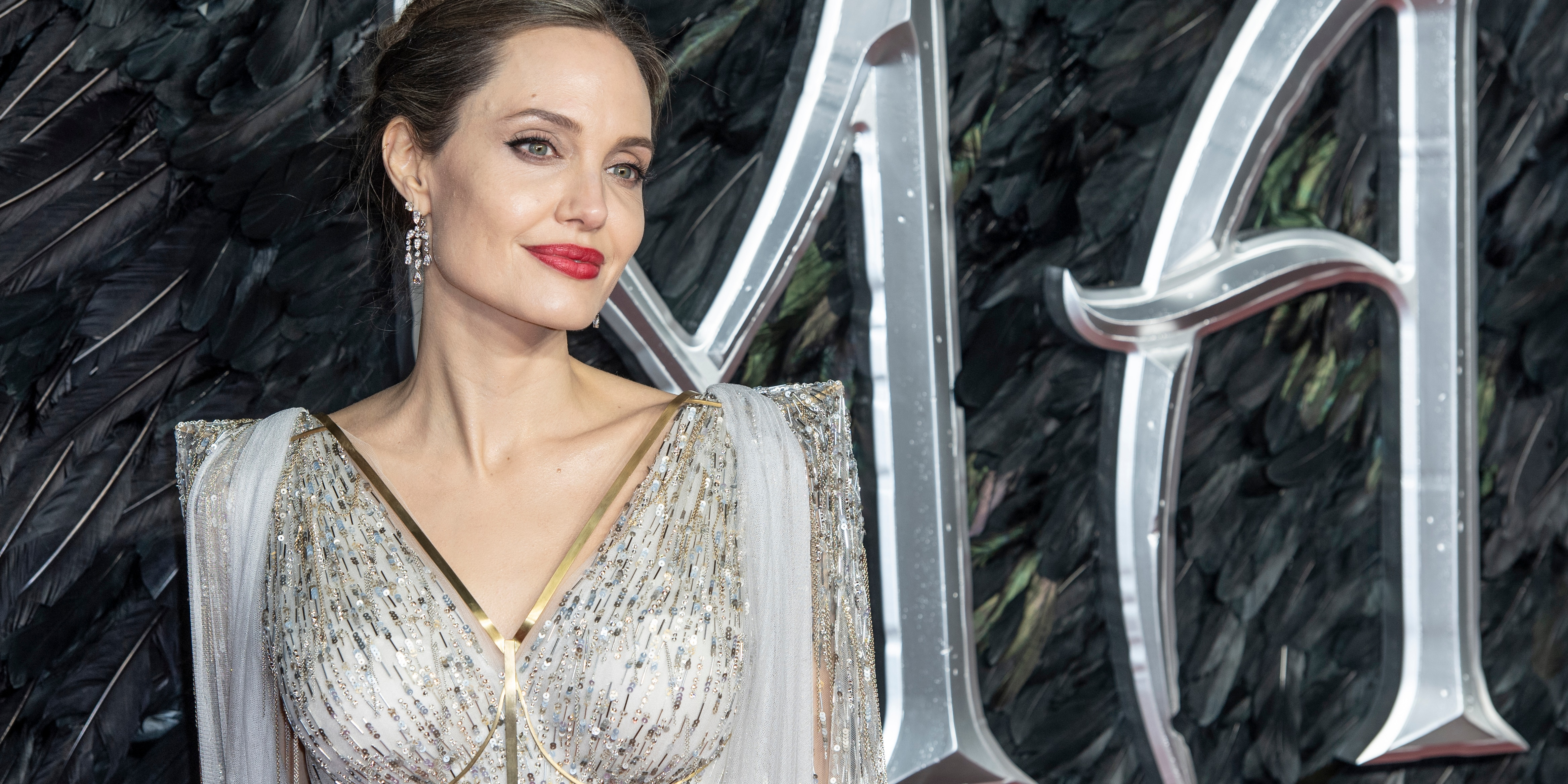 Angelina Jolie's request for the removal of the judge in the case of her divorce from Brad Pitt has reportedly been denied. (Photo by Gary Mitchell/SOPA Images/LightRocket via Getty Images)
