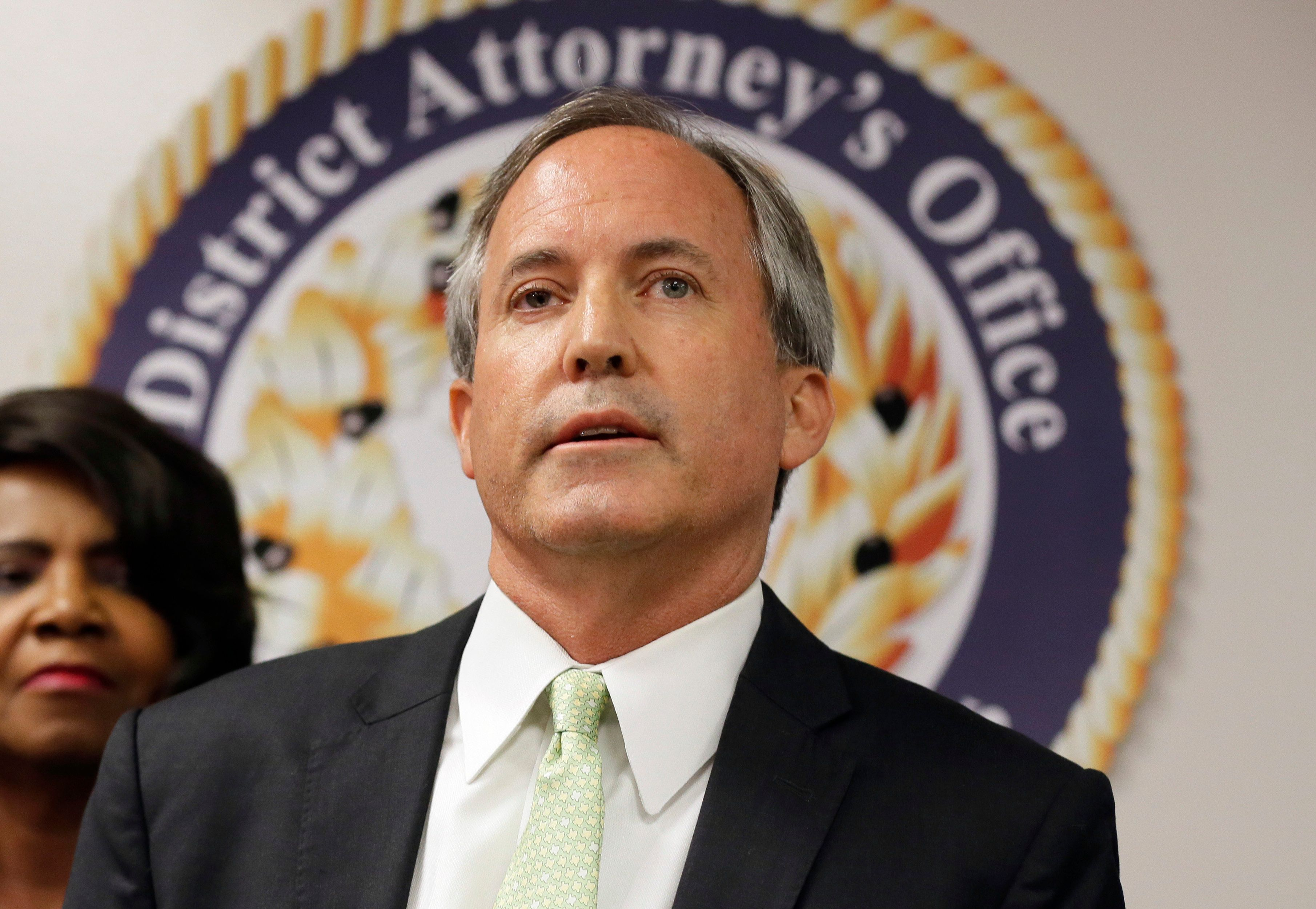Paxton, seen in 2017, has denied wrongdoing and refused calls for his resignation.