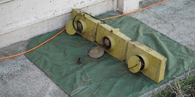 A photo of the IEDs that Israeli officials say were planted by a Syrian cell under Iranian guidance and direction. (Israel Defense Forces)
