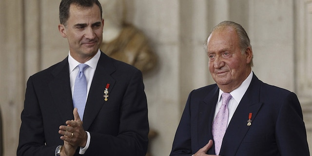 In 2014, Juan Carlos abdicated the throne in favor of his son Felipe, 52.