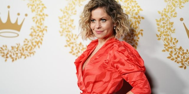 Candace Cameron Bure says it's tough balancing her Christian beliefs and celebrity pressures.