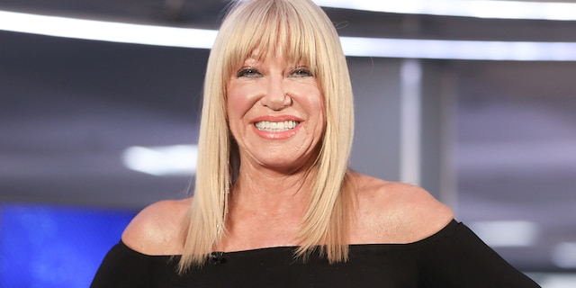 Suzanne Somers says she was fired from 'Three's Company' because she asked for a pay raise. (Getty Images)