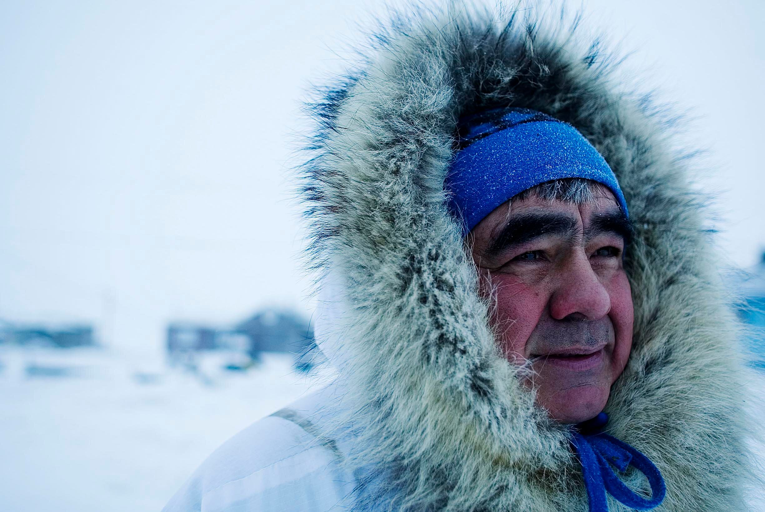Robert Thompson has been guiding polar bear tours in Kaktovik, Alaska, for two decades. The business supports the limited loc