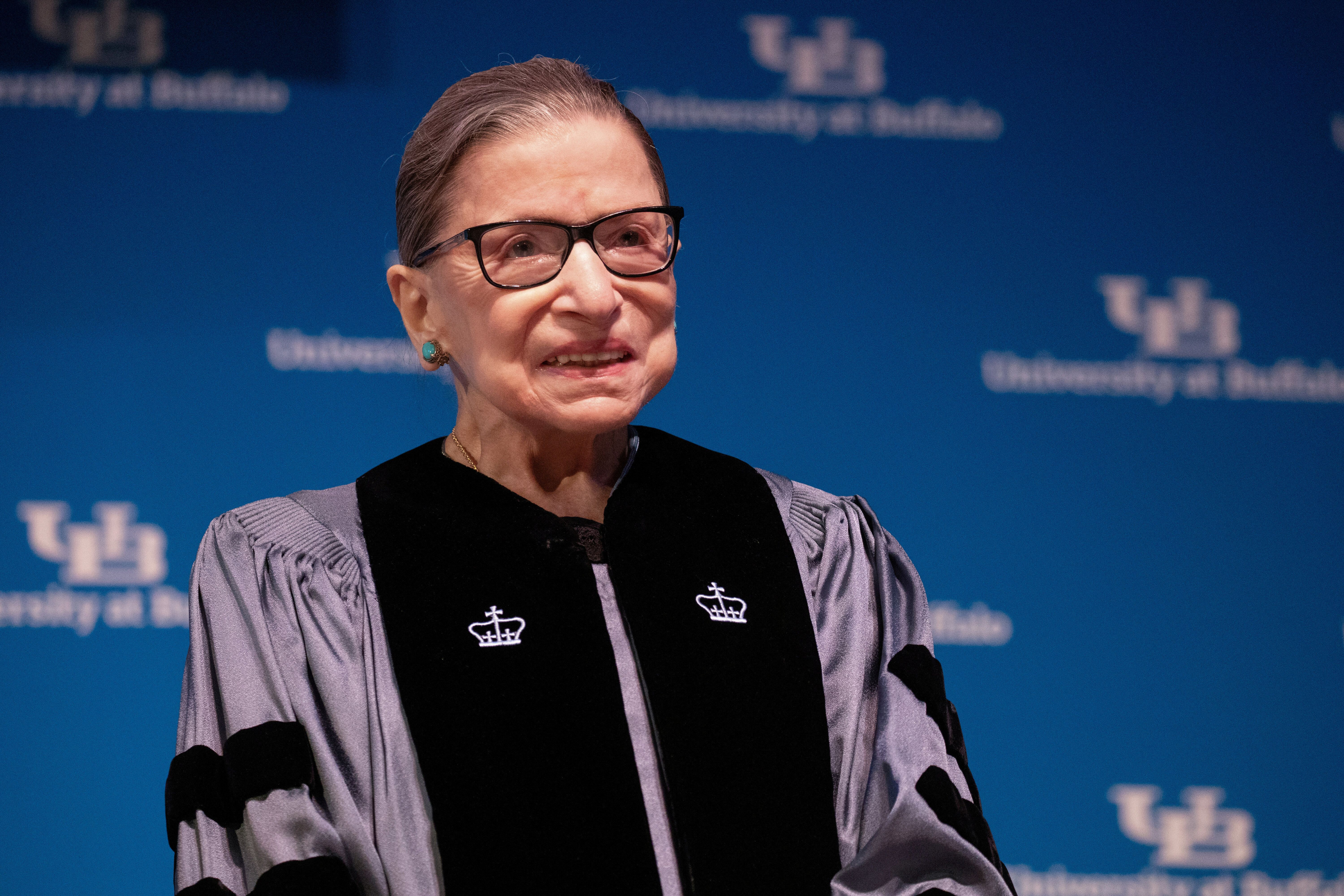 The late Supreme Court Justice Ruth Bader Ginsburg is being honored with a three-story street art mural in Manhattan.