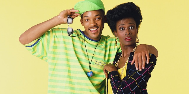 (l-r) Will Smith and Janet Hubert in 'The Fresh Prince of Bel-Air.'