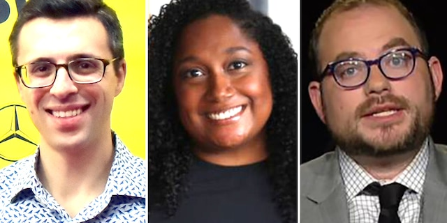 Ezra Klein, Lauren Williams and Matt Yglesias