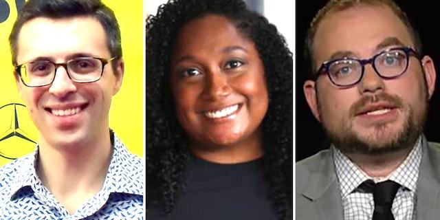 Ezra Klein, Lauren Williams and Matt Yglesias