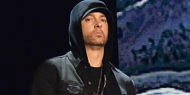 Rapper Eminem has slammed his mother in several songs. (Kevin Mazur/WireImage)