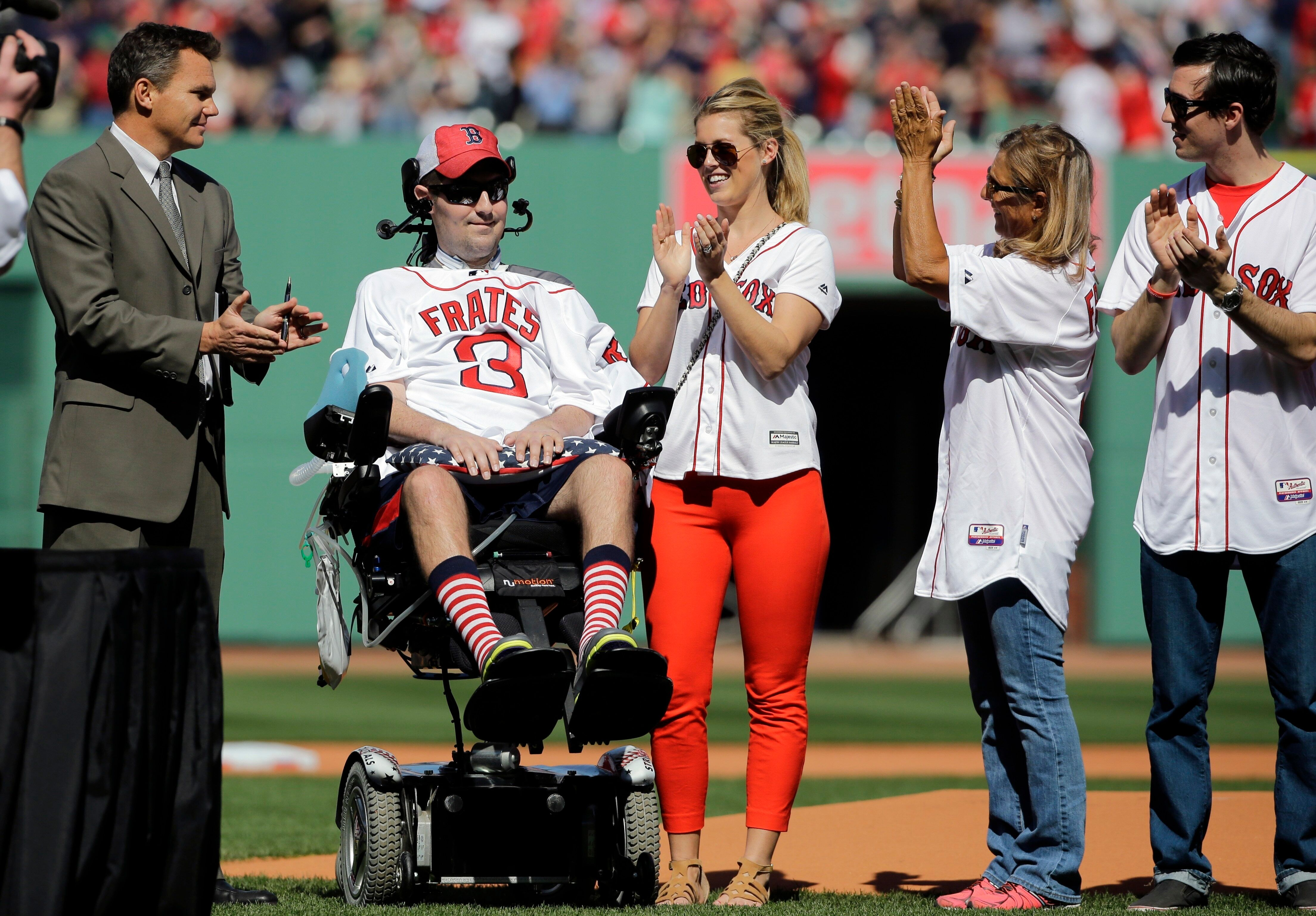 Pete Frates, a former Boston College baseball player whose Ice Bucket Challenge raised millions for ALS research, died last D